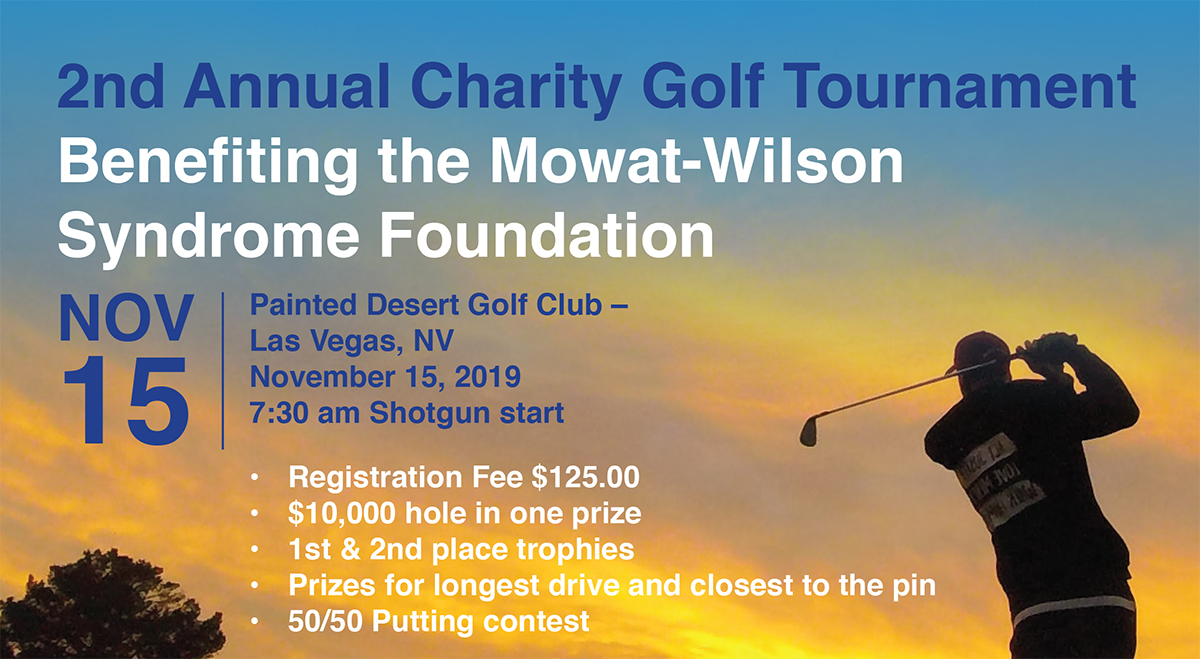 Mowat-Wilson Syndrome Foundation | Golf Charity Event